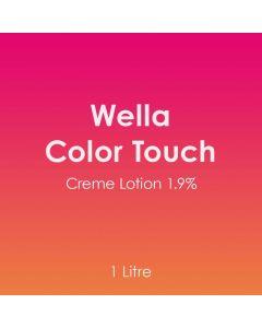 Wella Color Touch Creme Lotion 1.9% 1 Litre Developer